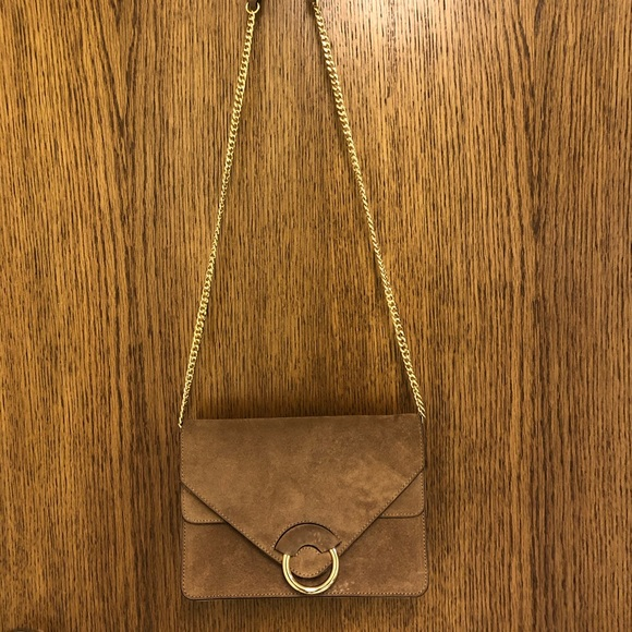 Banana Republic Handbags - Suede cross body bag